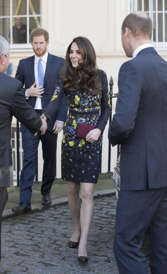<p>Kate arrived at the ICA in a brand-new floral dress by Erdem, costing an eye-watering $1,300.<br /> (<i>Photo: Getty Images)</i> </p>