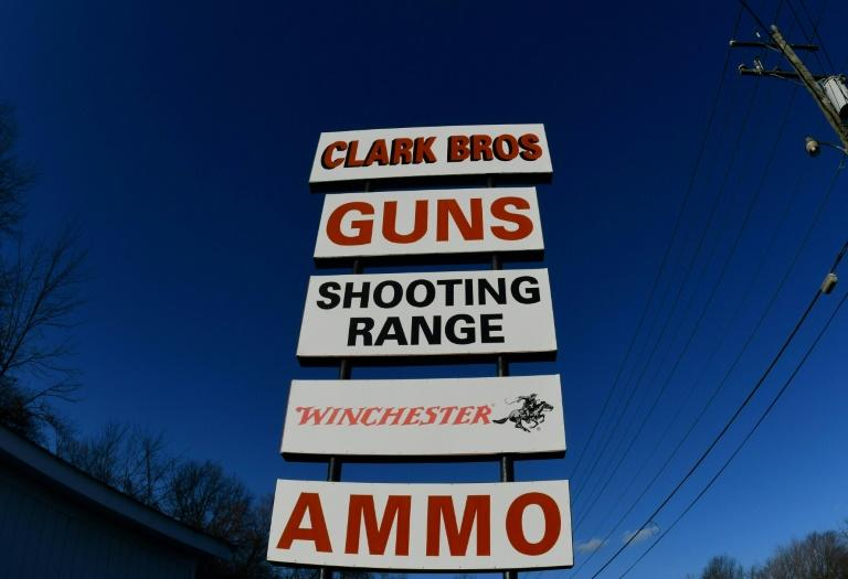 """Sheriff Scott Jenkins explains that in Culpeper County, """"people grew up with guns,"""" and hunting and sporting are part of the culture (AFP Photo/EVA HAMBACH)"""