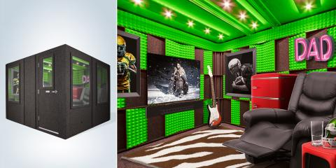 Father's Day: Reward Dad in a Big Way This Year with a $60,000 Soundproof Man Cave