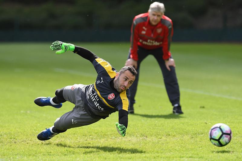 In doubt: Ospina could be set to leave Arsenal this summer: Arsenal FC via Getty Images