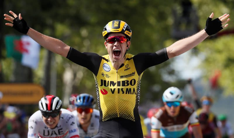 Cycling - Belgian Van Aert powers to Strade Bianche victory