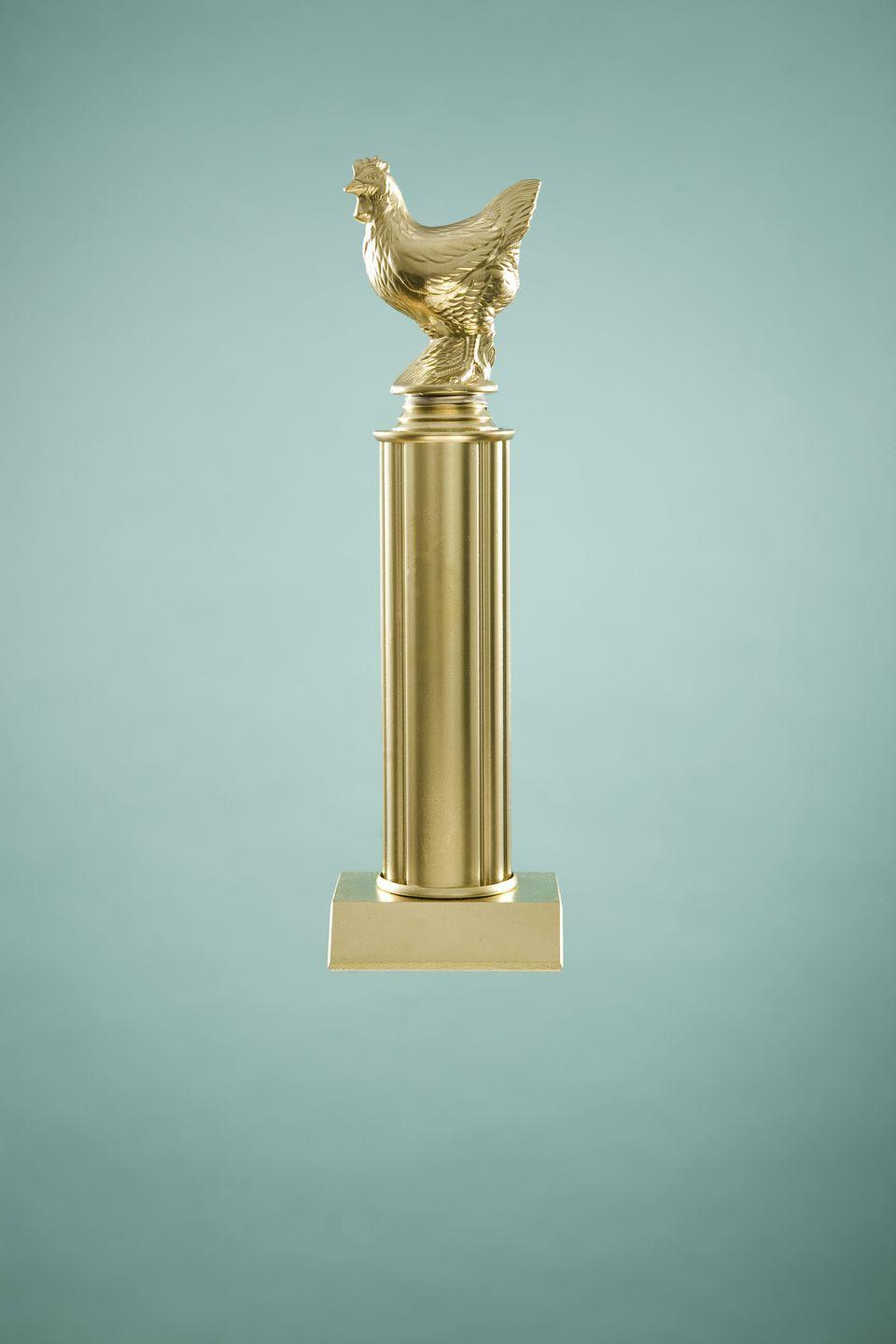<p>Yes, your kid is #1, but if your kid is also no longer actually a kid, take a #shelfie of all of the participation trophies she's gathered over the years and frame that instead to make room for more memories. </p>
