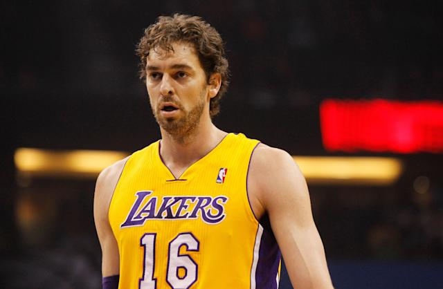 Pau Gasol says farewell to Lakers, maybe for good