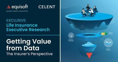 New research from Celent on how insurers get value from their data (CNW Group / Equisoft)