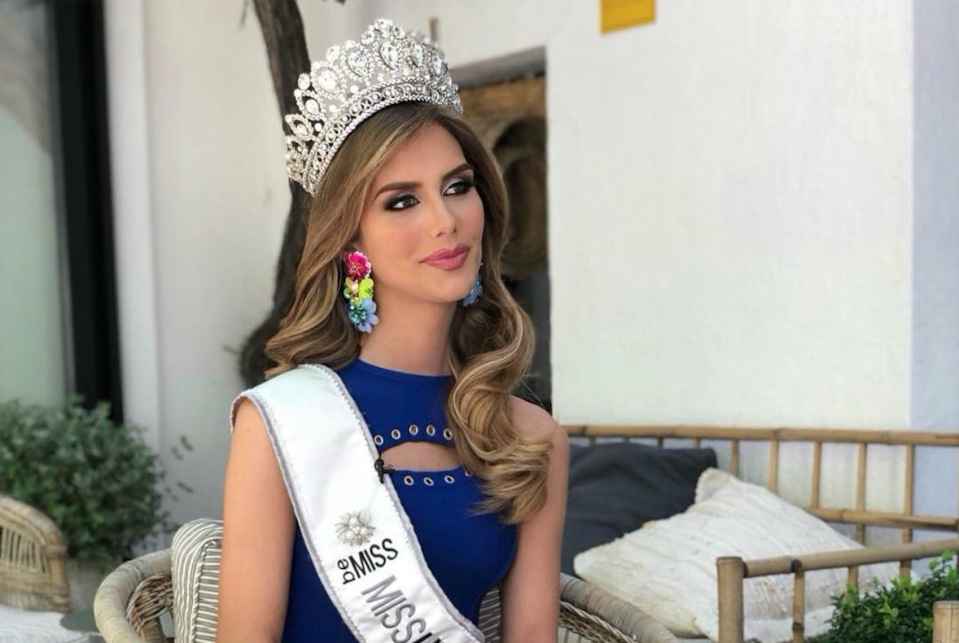 Angela Ponce will be competing for her country in the Miss Universe competition. [Photo: Instagram]