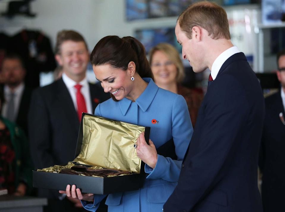 <p>Kate Middleton has access to the most coveted goods around, from Alexander McQueen dresses to heirloom jewels—and yet, many of her tried-and-true picks are pretty down-to-earth. Below, check out the Duchess of Cambridge's must-haves, from her favorite pair of sneakers to her choice pastime and more.</p>