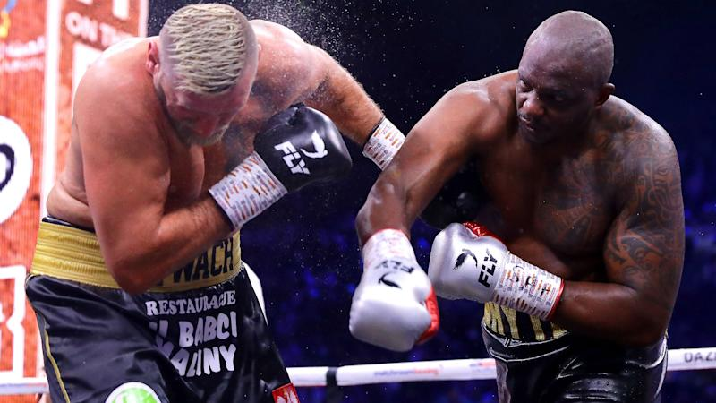 Ruiz v Joshua II: Whyte wins after going through 'hell', Hunter v Povetkin ends in a draw
