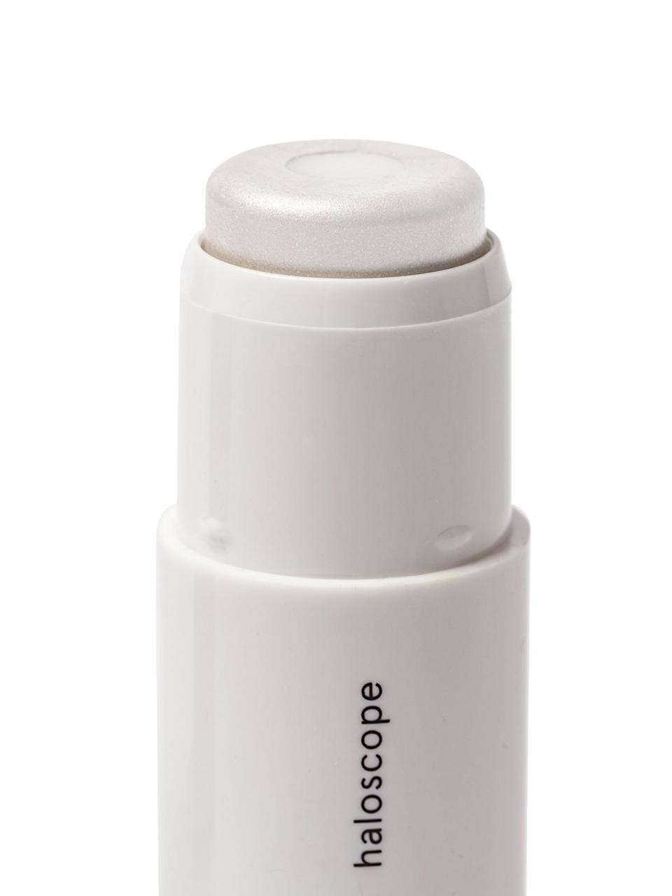 """<h3>Haloscope <br></h3> <br>The highlighter that made us believe in highlighter again is a unique specimen, an easy, user-friendly twist-up stick of dewy, non-sparkly skin. You can thank the hydrating oils in the core for that — unlike other cream highlighters, this one incorporates vitamin-rich moisturizers that only add to the supernatural sheen.<br><br><strong>Glossier</strong> Haloscope, $, available at <a href=""""https://go.skimresources.com/?id=30283X879131&url=https%3A%2F%2Fwww.glossier.com%2Fproducts%2Fhaloscope"""" rel=""""nofollow noopener"""" target=""""_blank"""" data-ylk=""""slk:Glossier"""" class=""""link rapid-noclick-resp"""">Glossier</a><br>"""