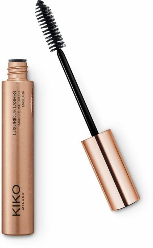 <p>The <span>KIKO Milano Baseline Luxurious Lashes Extra Volume Brush Mascara</span> ($12) will give you volume and definition all night long.</p>