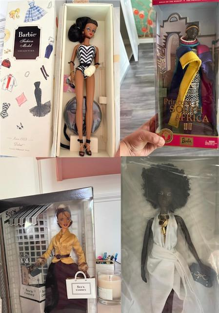 A few examples of the dozens of dolls Ahmed found in her home. (Photo by Sara Ahmed)