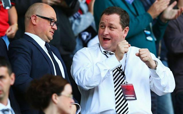 <span>Mike Ashleytried to have Dave King imprisoned</span> <span>Credit: GETTY IMAGES </span>