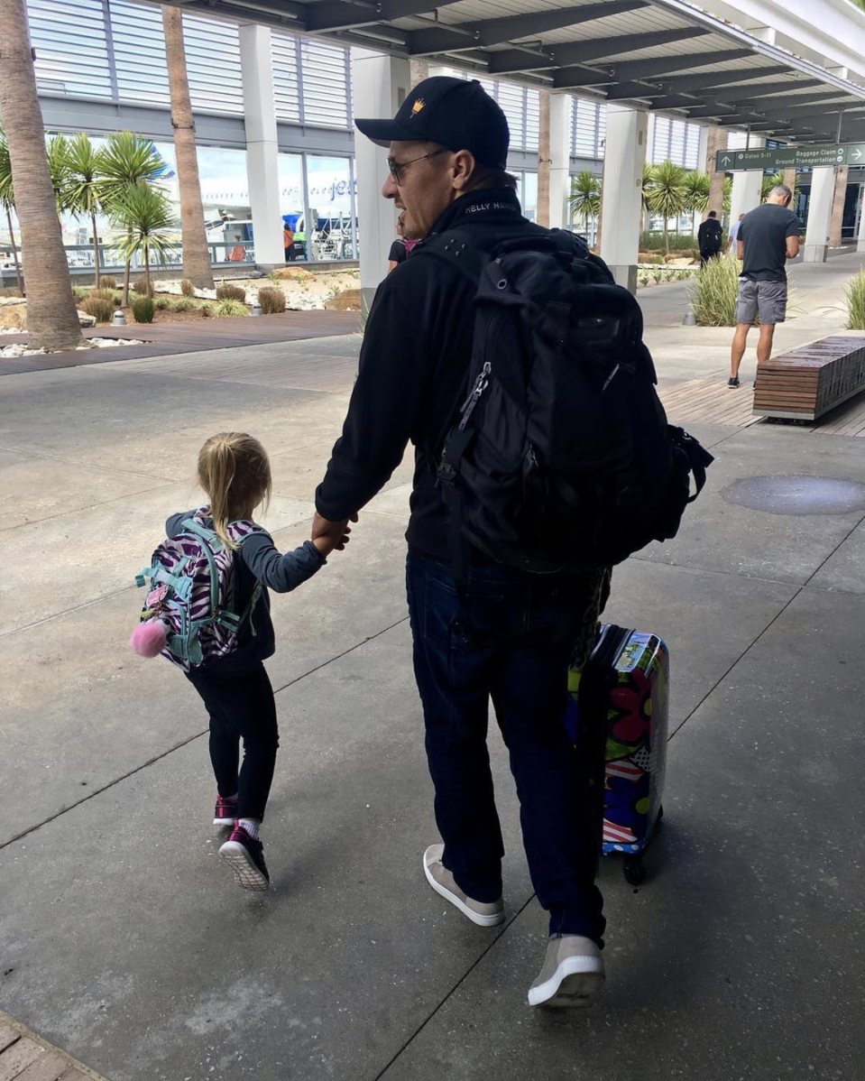 "<p>The <em>Avengers </em>star and his now-ex-wife Sonni Pacheco, welcomed baby Ava Berlin back in 2013. ""I think my job as a father is make it impossible for her to find the version of a man that I will show her,"" he told <a href=""https://www.usmagazine.com/celebrity-moms/news/jeremy-renner-opens-up-about-raising-his-daughter-ava-4-w492275/"" rel=""nofollow noopener"" target=""_blank"" data-ylk=""slk:Nobleman Magazine"" class=""link rapid-noclick-resp"">Nobleman Magazine</a> in 2017. ""That's my job every day. To be consistent, like the stone in the garden. Sometimes it sucks to be the stone but you need to be there."" </p>"