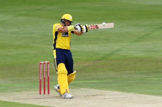 George Munsey hit 108 for Kent in their defeat to Worcestershire