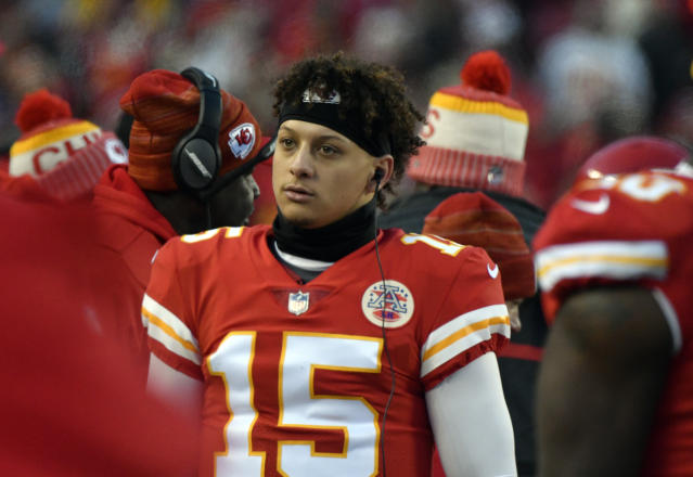 Patrick Mahomes inherited the Chiefs' starting quarterback job on Tuesday. (AP)