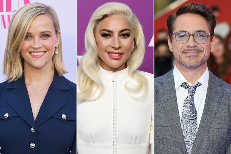Famous Aries Reese Witherspoon, Lady Gaga and Robert Downey, Jr. | Rodin Eckenroth/Getty; Steve Granitz/WireImage; Mike Marsland/WireImage