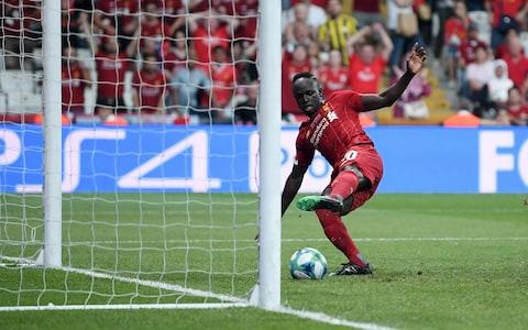 Mane equalises for Liverpool. - Credit: Getty Images