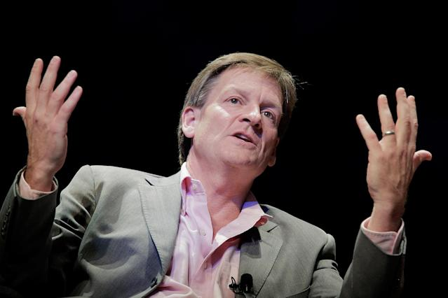 Michael Lewis. (Photo by T.J. Kirkpatrick/Getty Images)