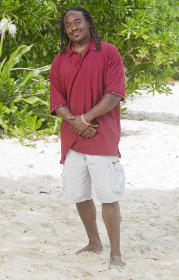"<b>Russell Swan </b>	<br>							 <b>Age: </b> 45<br> <b>Previous Season:</b> ""Survivor: Samoa""<br>					 <b>Previous Finish:</b> Medical evacuation due to dehydration. ""I fainted multiple times during a challenge."" Jeff Probst has described this as, ""the scariest moment I've ever had on the show.""<br> <b>Current Residence: </b> Glenside, Pennsylvania<br>						 <b>Occupation: </b> Environmental Attorney <br> <b>Tribe: </b> Matsing"