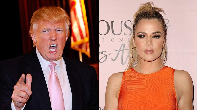 "Khloe Kardashian Responds to Donald Trump Reportedly Calling Her a ""Fat Piglet"""