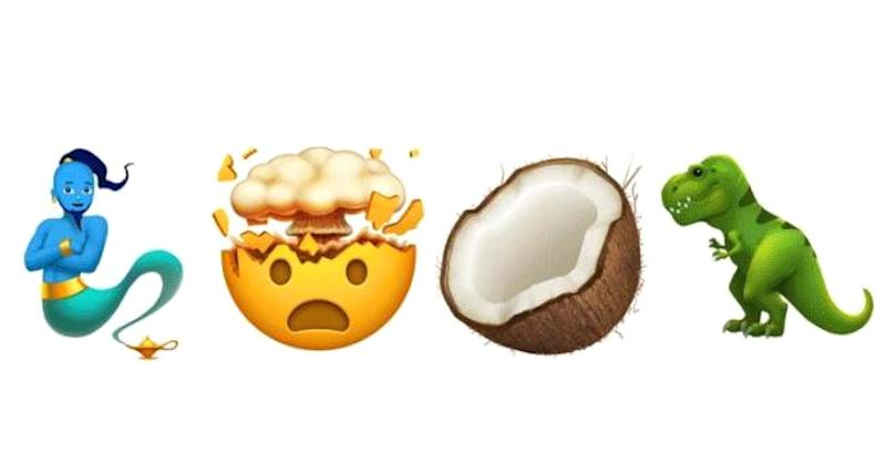 Apple shows off new emoji coming this year, including zombies, a genie and T-Rex