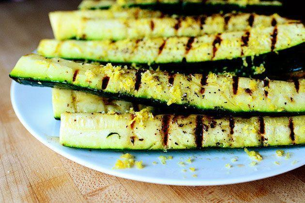 """<p>We love the simplicity of grilled summer vegetables. Add some lemon juice and lemon zest to this zucchini and you'll have a bright and flavorful BBQ side. </p><p><a href=""""https://www.thepioneerwoman.com/food-cooking/recipes/a11597/grilled-zucchini-with-yummy-lemon-salt/"""" rel=""""nofollow noopener"""" target=""""_blank"""" data-ylk=""""slk:Get Ree's recipe."""" class=""""link rapid-noclick-resp""""><strong>Get Ree's recipe. </strong></a></p><p><a class=""""link rapid-noclick-resp"""" href=""""https://go.redirectingat.com?id=74968X1596630&url=https%3A%2F%2Fwww.walmart.com%2Fsearch%2F%3Fquery%3Dcitrus%2Bzester&sref=https%3A%2F%2Fwww.thepioneerwoman.com%2Ffood-cooking%2Fmeals-menus%2Fg36353420%2Ffourth-of-july-side-dishes%2F"""" rel=""""nofollow noopener"""" target=""""_blank"""" data-ylk=""""slk:SHOP CITRUS ZESTER"""">SHOP CITRUS ZESTER</a></p>"""