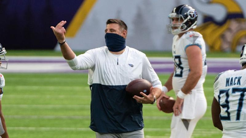Mike Vrabel hopes Titans can return to work Monday or Tuesday