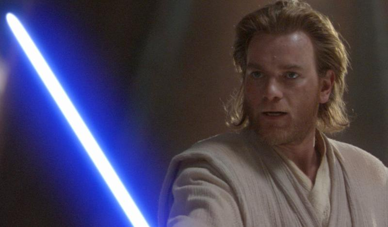 Ewan McGregor as Obi-Wan Kenobi in the 'Star Wars' prequel trilogy. (Credit: LucasFilm)
