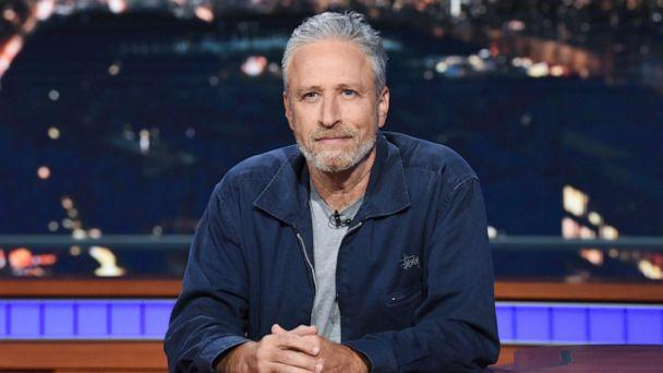 PHOTO: Jon Stewart appears as a guest on 'The Late Show with Stephen Colbert,' June 17, 2019. (CBS)