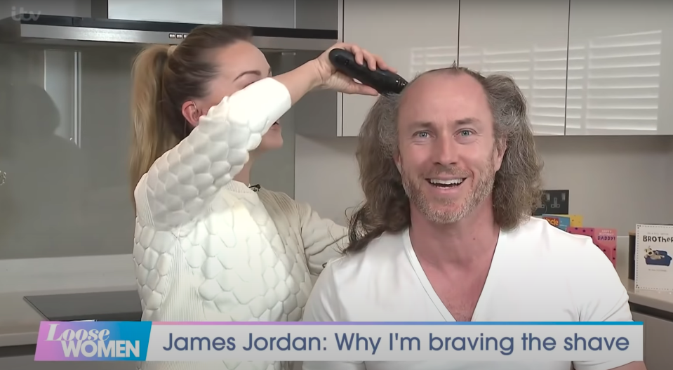 James Jordan and Ola Jordan appeared on Loose Women in 13 April, 2021 (ITV)