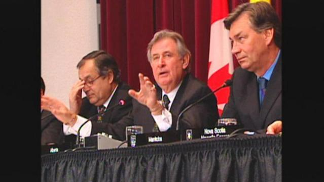 Political leaders from Parliament Hill sent their condolences to the family of the late Ralph Klein, even though Klein never held federal office