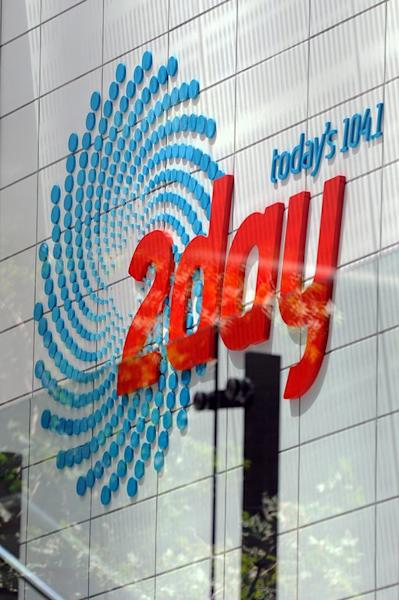 The 2Day FM radio station building at World Square in Sydney, December 8, 2012. The station has cancelled the show which ran the segment, suspended all prank calls and pledged at least Aus$500,000 (US$523,600) to help the grieving family