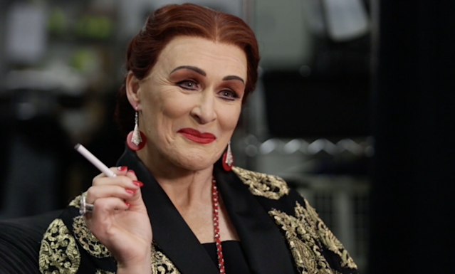 Norma Desmond is ready for her close-up.