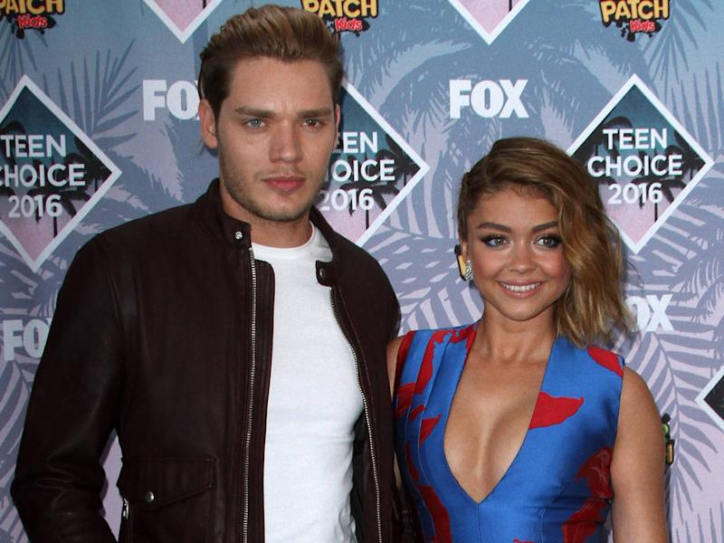 Sarah Hyland, Dominic Sherwood, break up, together, relationship, Modern family, Shadowhunters