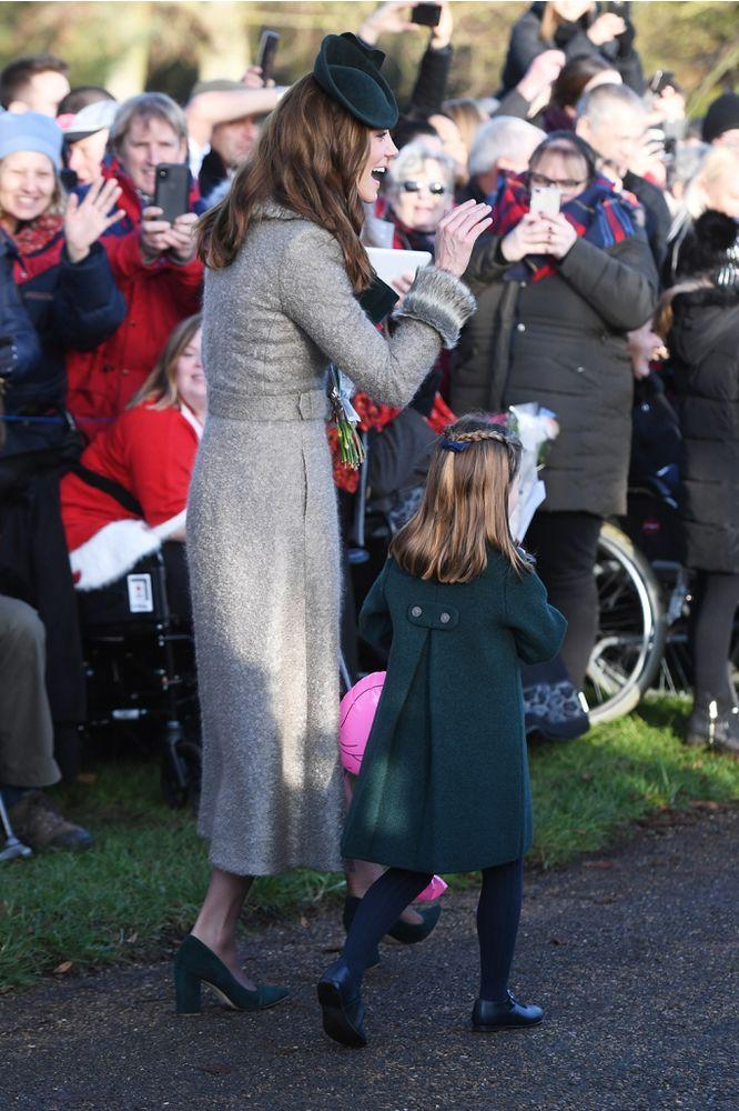 Kate Middleton and Princess Charlotte | Joe Giddens/PA Images via Getty