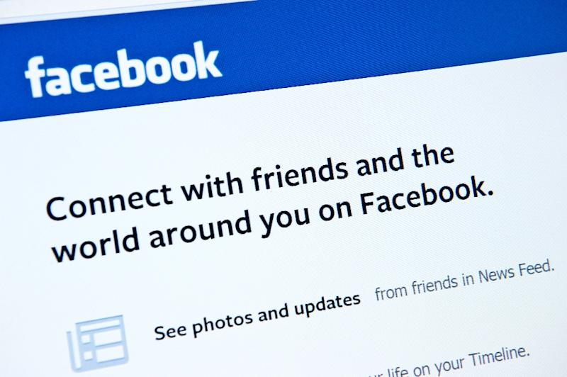 "Facebook is reconfiguring its News Feed, in a move aimed at giving people more information about what is happening to ""the friends you care about"" (AFP Photo/Karen Bleier)"