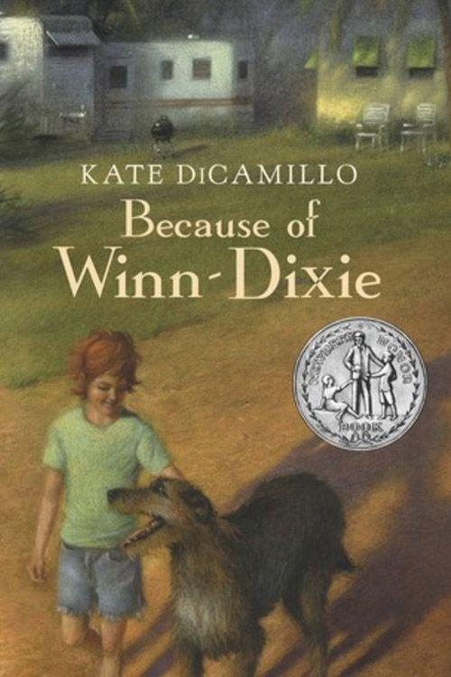 """<p><strong><em>Because of Winn-Dixie </em>by Kate DiCamillo</strong></p><p><span class=""""redactor-invisible-space"""">$5.99 <a class=""""link rapid-noclick-resp"""" href=""""https://www.amazon.com/Because-Winn-Dixie-Kate-DiCamillo/dp/0763680869/ref=tmm_pap_swatch_0?tag=syn-yahoo-20&ascsubtag=%5Bartid%7C10063.g.34149860%5Bsrc%7Cyahoo-us"""" rel=""""nofollow noopener"""" target=""""_blank"""" data-ylk=""""slk:BUY NOW"""">BUY NOW</a></span></p><p>A lot of things happened because of Winn-Dixie, the lovable, not-so-ordinary dog that Opal Buloni finds at the supermarket and decides to take home. DiCamillo's young adult novel that takes place in Naomi, Florida, won the Newbery Honor in 2001. <br></p>"""