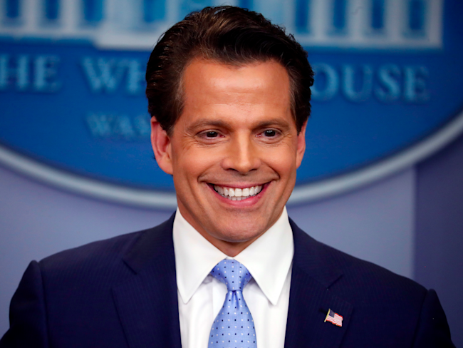 Scaramucci: Let Priebus 'Explain He's Not A Leaker'