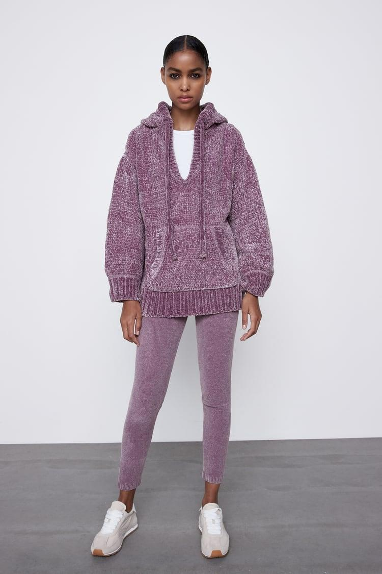 <p>Elevate your loungewear game with this <span>Chenille Knit Sweatshirt</span> ($50).</p>