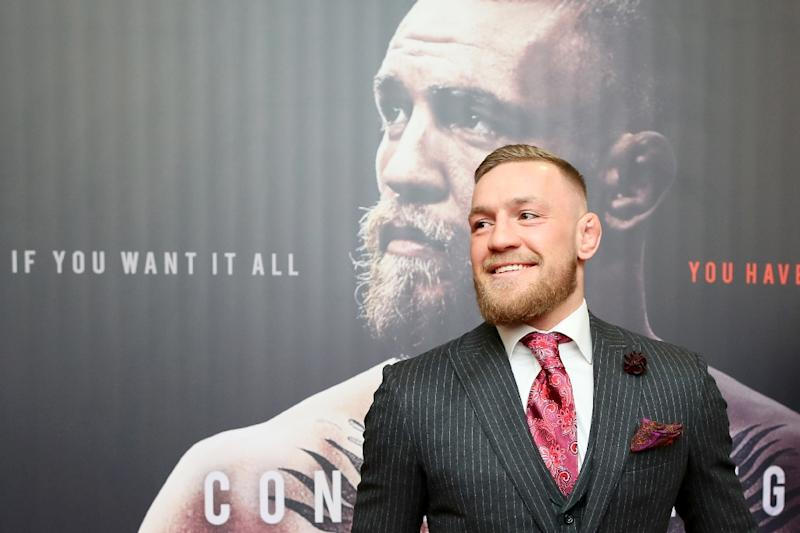 Irish mixed martial arts star Conor McGregor hasn't fought in mixed martial arts or boxing since losing a boxing bout to unbeaten Floyd Mayweather in Las Vegas in August 2017