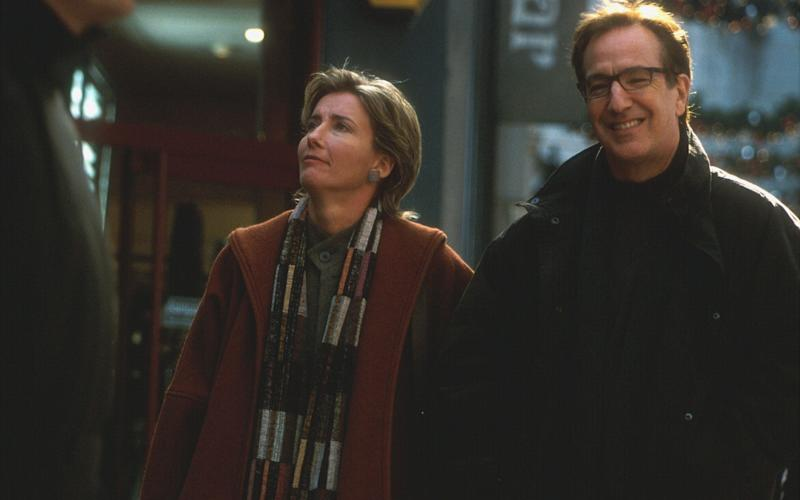 Emma Thompson and Alan Rickman in Love Actually