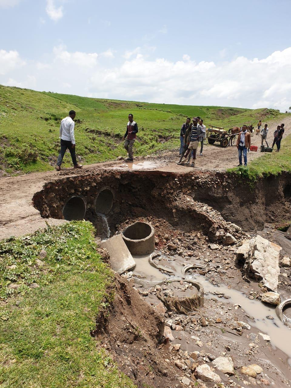 The road from Addis Ababa, Ethiopia, leading to the crash site of Ethiopian Airlines Flight 302. Credit: Clifford Law Offices