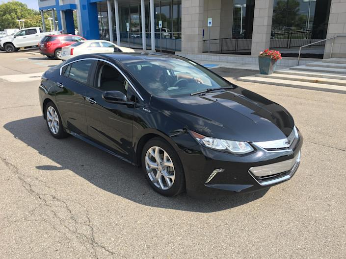 The author's Chevy Volt, as great as the last one but with longer battery range. (Photo: HUFFPOST / Jonathan Cohn)