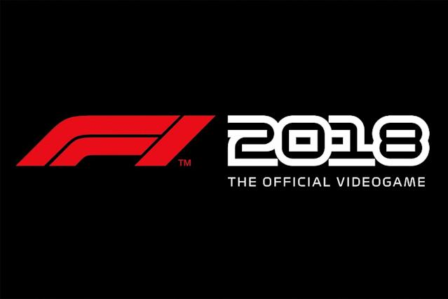 F1 2018 game release date announced