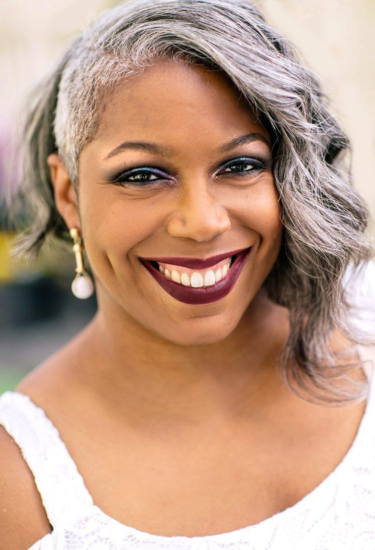 Ty Alexander, beauty & lifestyle writer/blogger at Gorgeous in Grey and author of <em>Things I Wish I Knew Before My Mom Died</em>. (Photo: Priscilla De Castro)