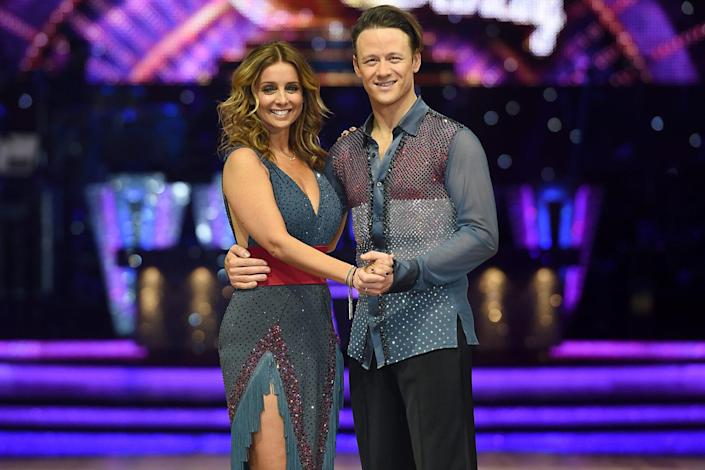 Louise and Kevin Clifton (Joe Giddens/PA Archive/PA Images)