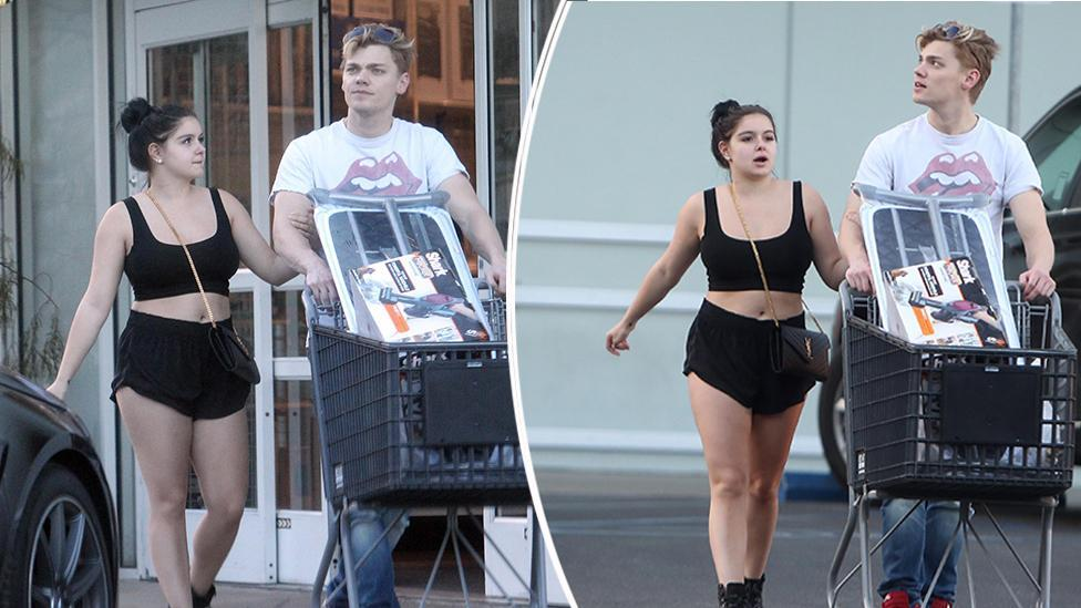 <p>Ariel Winter's raunchiest moments</p>