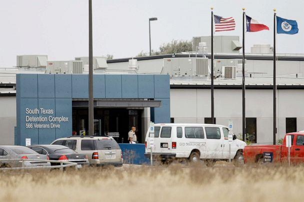 PHOTO: This Feb. 10, 2009 file photo shows the South Texas Detention Center in Pearsall, Texas. (Eric Gay/AP)