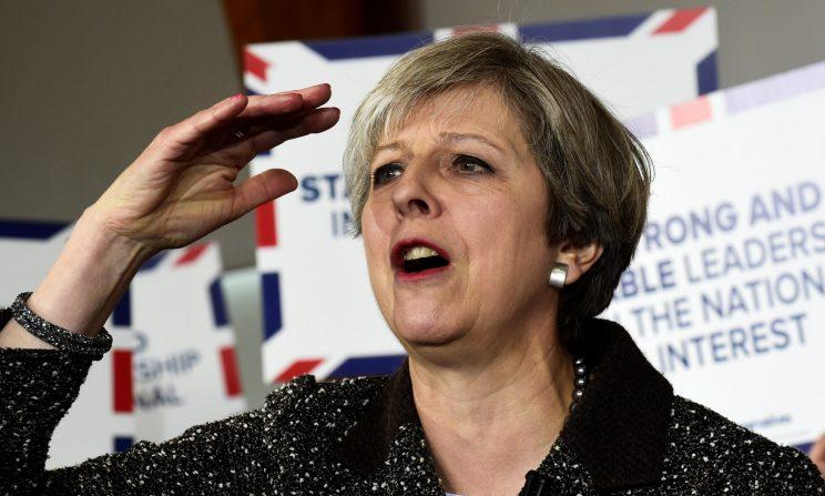 Theresa May surprised many by calling a snap General Election for June 8 (Rebecca Naden - WPA Pool/Getty Images)