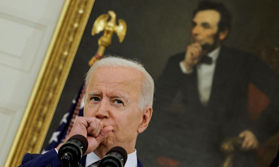 The party's left wing is not convinced Biden is applying sufficient pressure to bring the doubters on board.