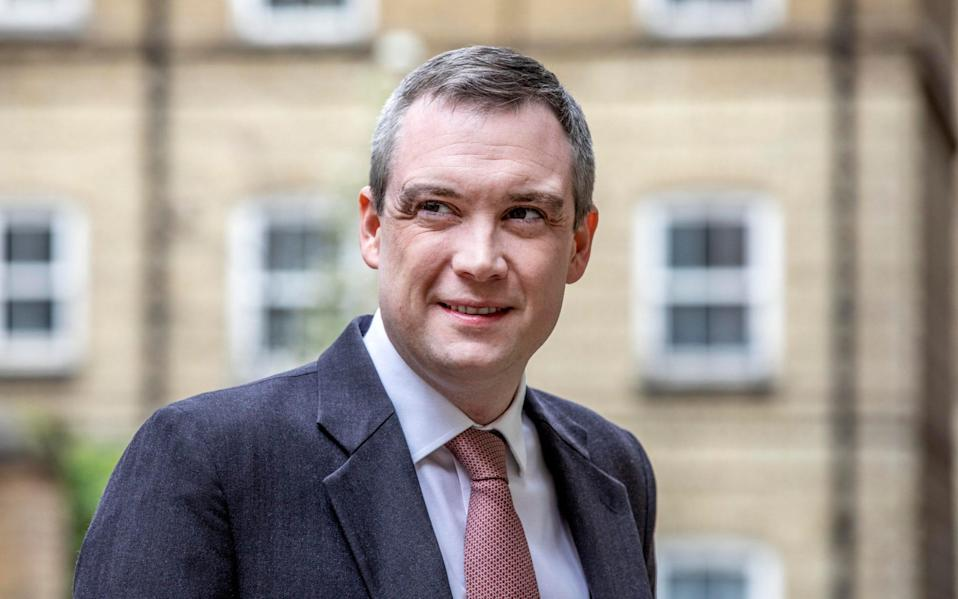Lord James Wharton, chair of office for Students - Jeff Gilbert